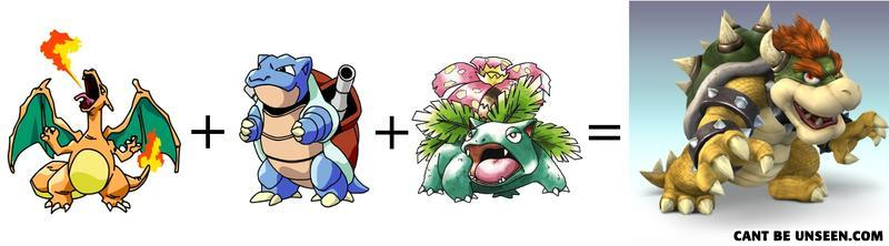 - i don't see where venasaur would fit in either. bu