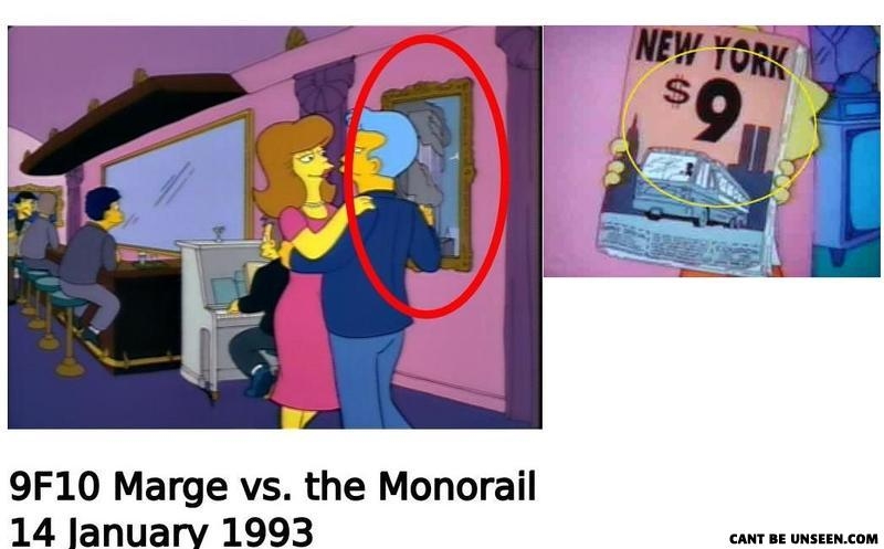 Marge vs the Monorail.